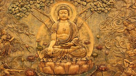 Bas-Relief of Buddha