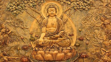 Bas-Relief of Buddha